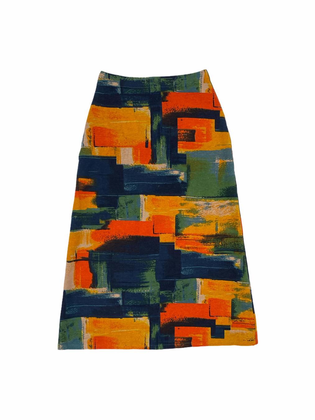 Maxi Skirt in Sunset
