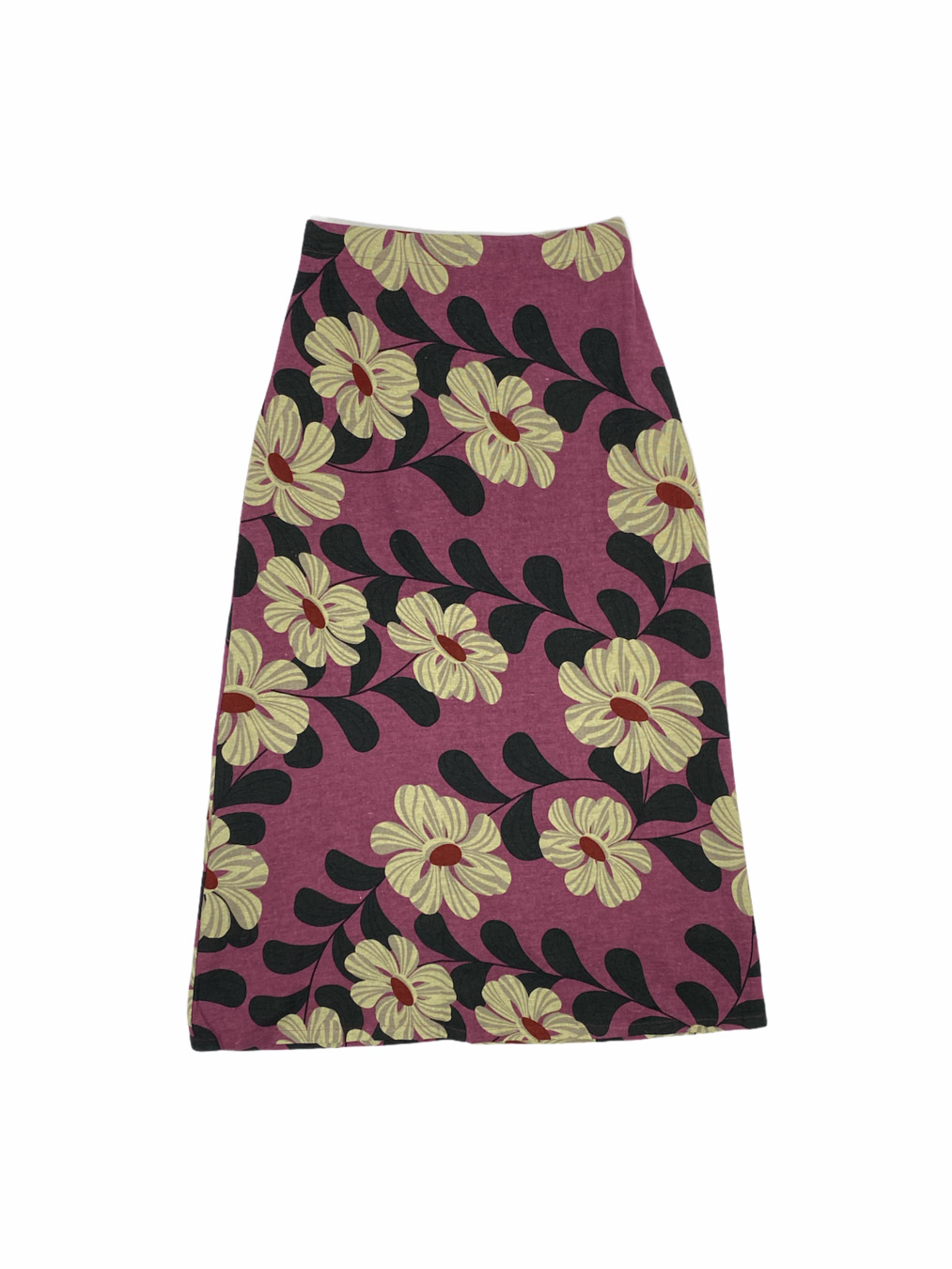 Maxi Skirt in Purple floral