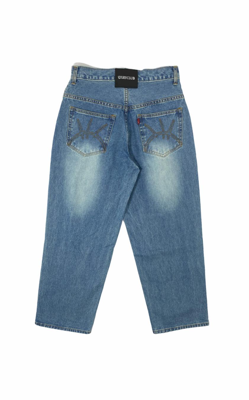 Uxry Baggy Jeans (Blue)