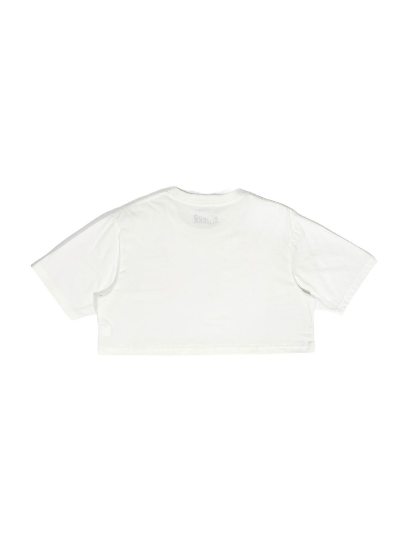 Double BLURR Crop top (White)