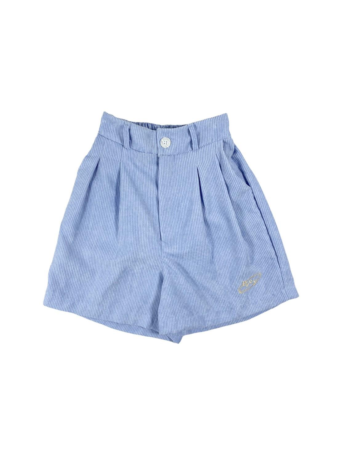 Prey Baby Corduroy Shorts (Light Blue)