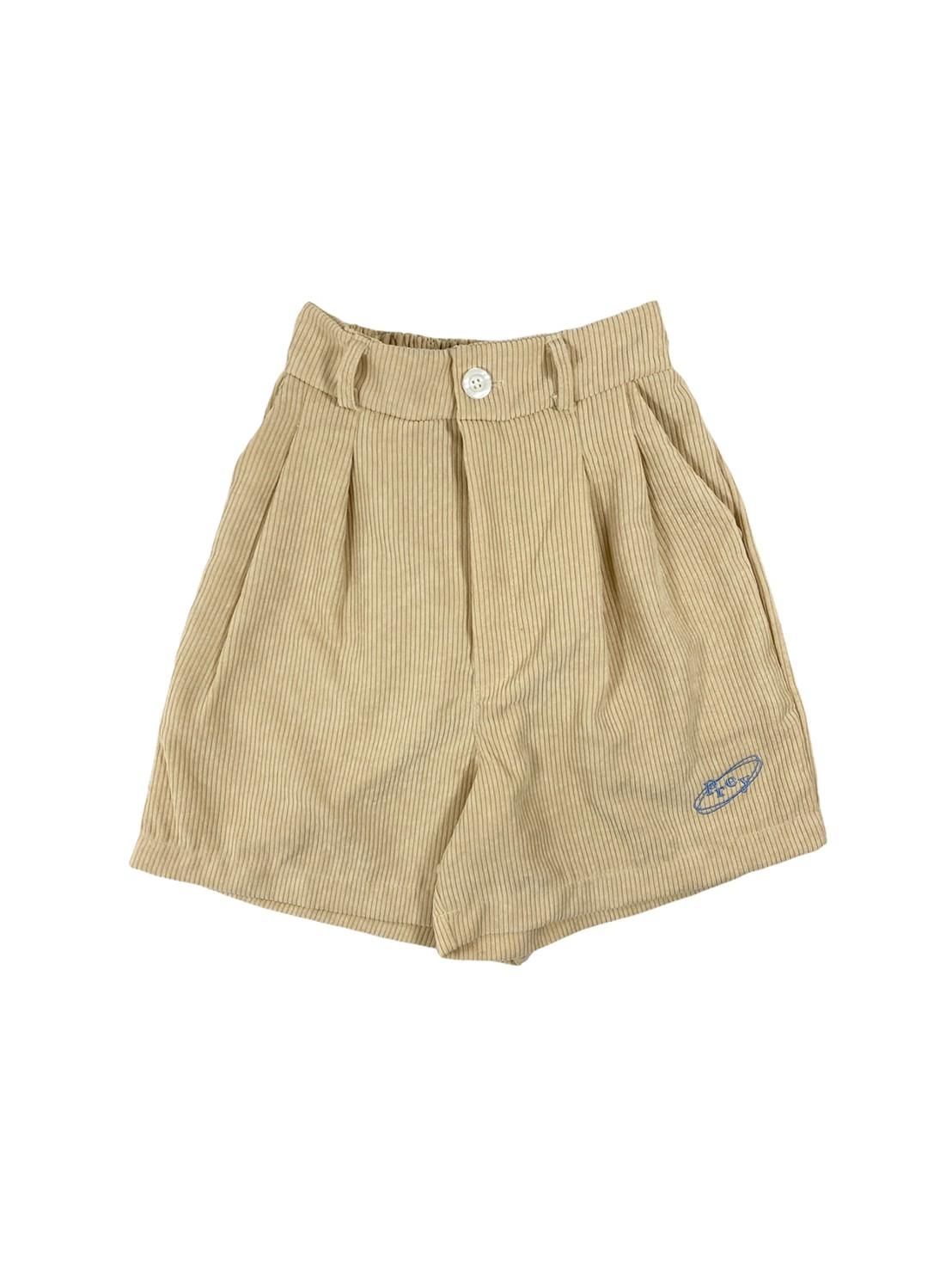 Prey Baby Corduroy Shorts (Cream)