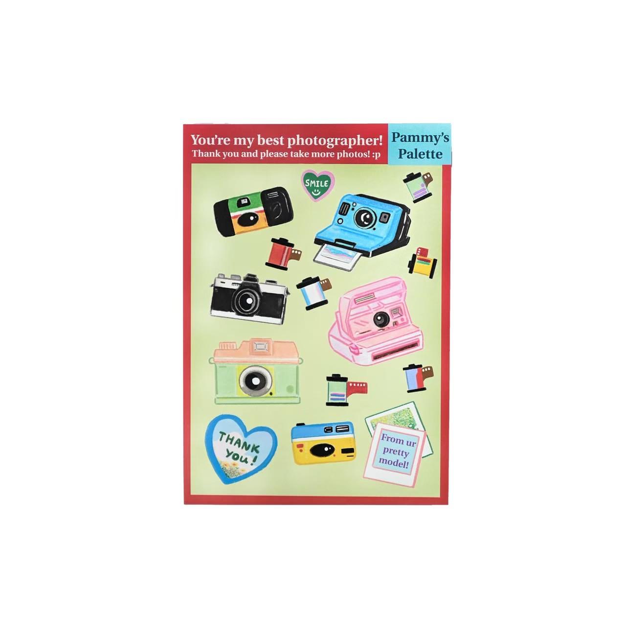 Sticker - Camera