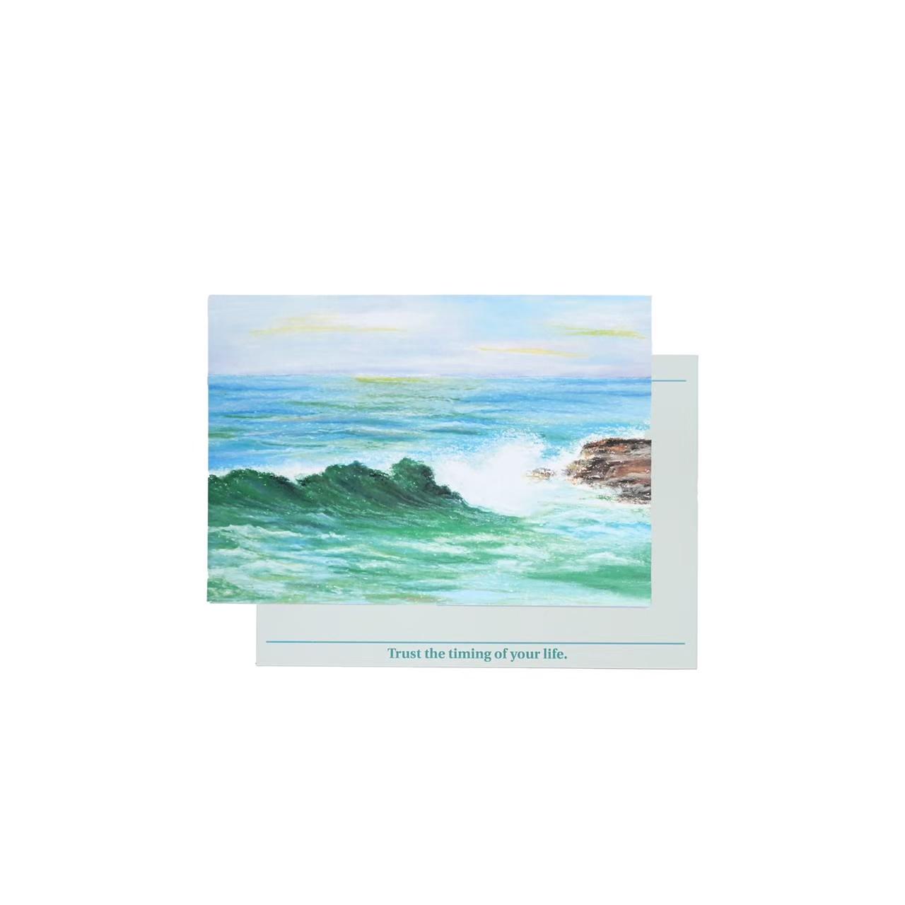 Postcard - Wave
