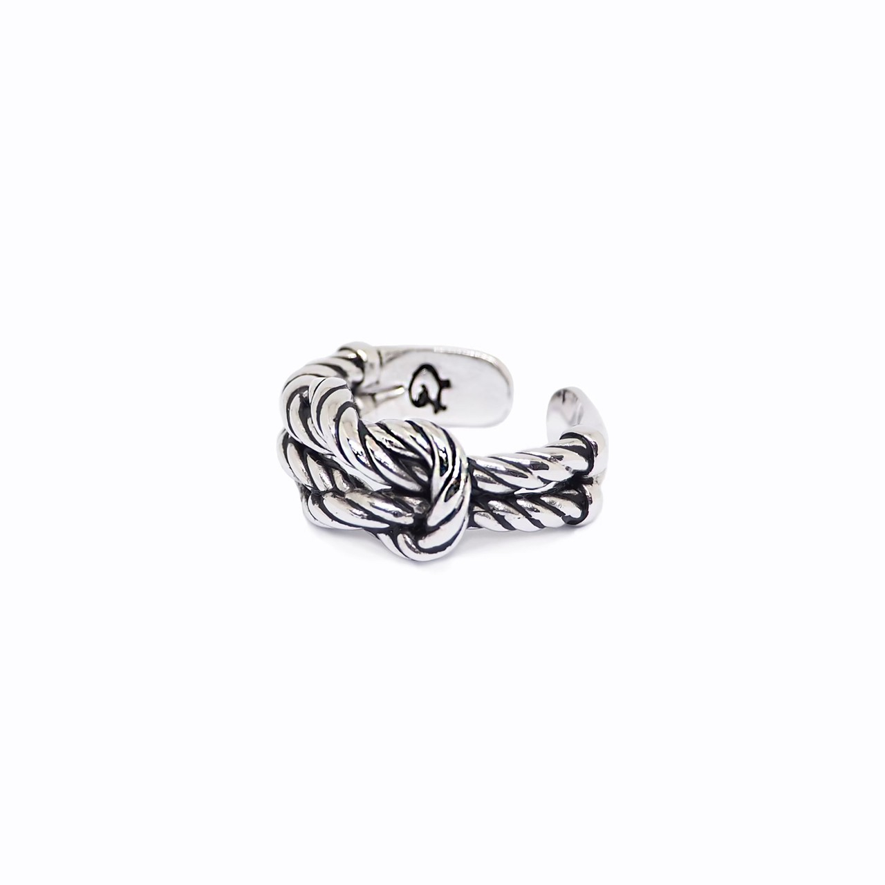 Square Knot ring (M)