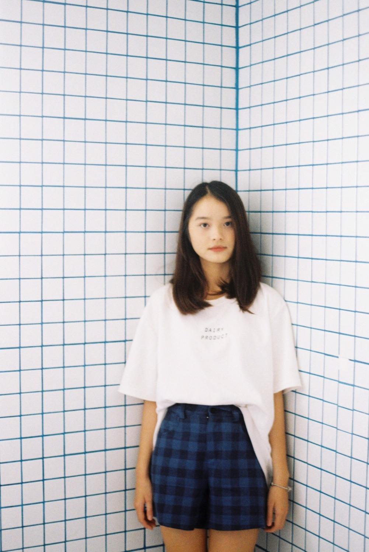 Miho Pattern Short (Dark Blue)