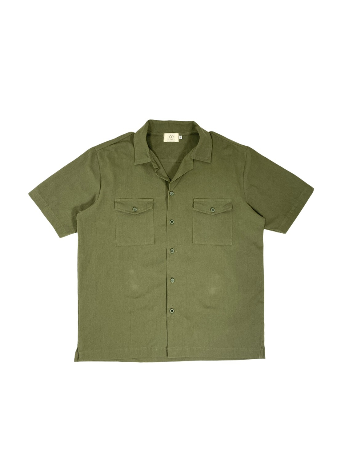 Open Collar 2pocket (Green)