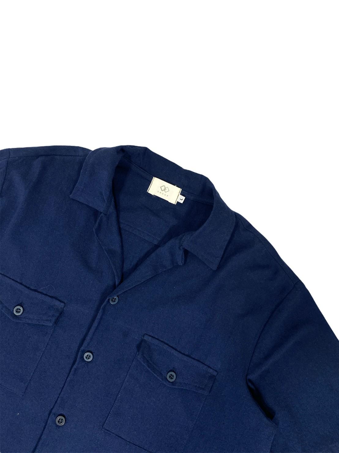 Open Collar 2pocket (Navy)