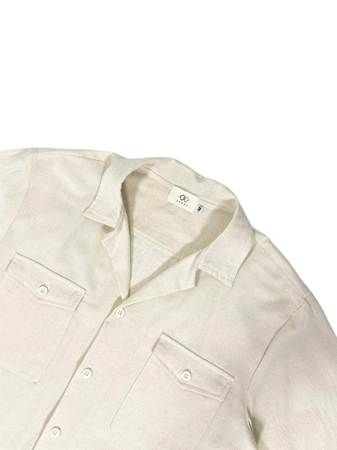 Open Collar 2pocket (Beige)