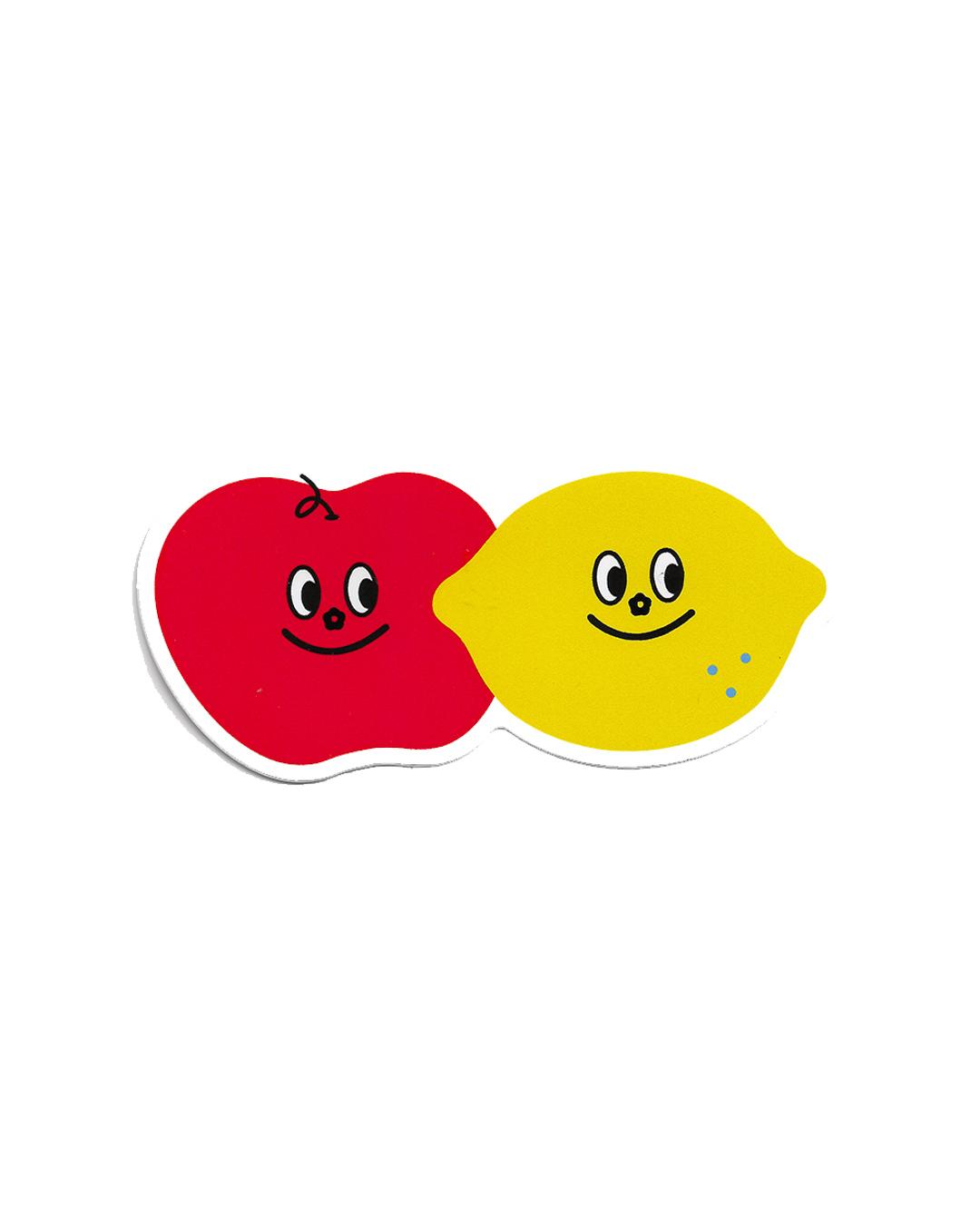 Big Sticker - Apple Lemon